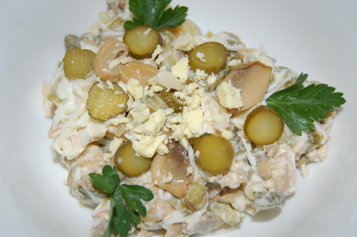 Простой салат из мяса свинины рецепты с фото