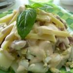 грибы и сыр