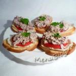 консервированный тунец в бутербродах