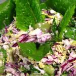 капуста в салате кролик