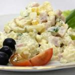 традиционный салат оливье