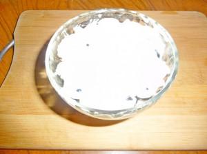 творожный сыр поверх смородины