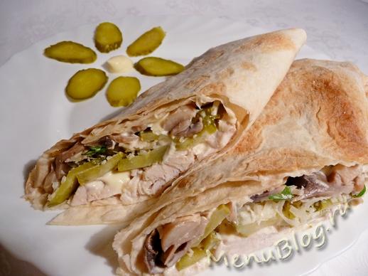 Армянский лаваш с начинкой (пошаговый рецепт с фото) 22