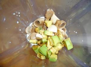 грибной соус в миксере