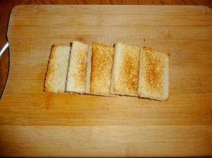 сделать тосты