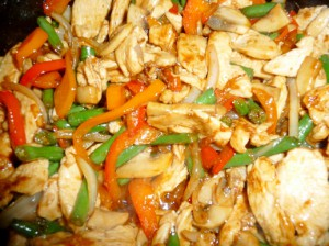добавить соус в стир-фрай